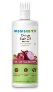 mamaearth onion hair oil